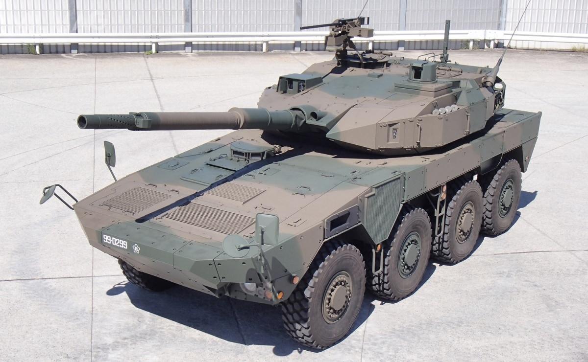 Niszczyciele czołgów typu 16 charakteryzują się masą 26 t, auzbrojeniem głównym jest 105-mm armata gwintowana odługości 52 kalibrów, opracowana iprodukowana przezJapan Steel Works. Uzbrojenie dodatkowe to12,7-mm wkm M2HB. Załogę stanowi 4żołnierzy. Pojazd jest napędzany 570-konnym silnikiem wysokoprężnym