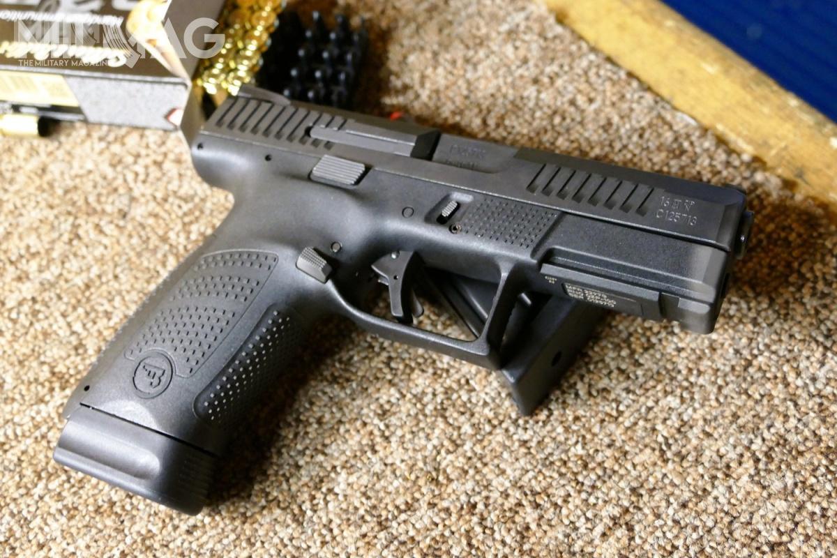 Na targach Europoltech wGdańsku zadebiutował najnowszy pistolet produkcji Ceskiej Zbrojovki, bezkurkowy P-10C