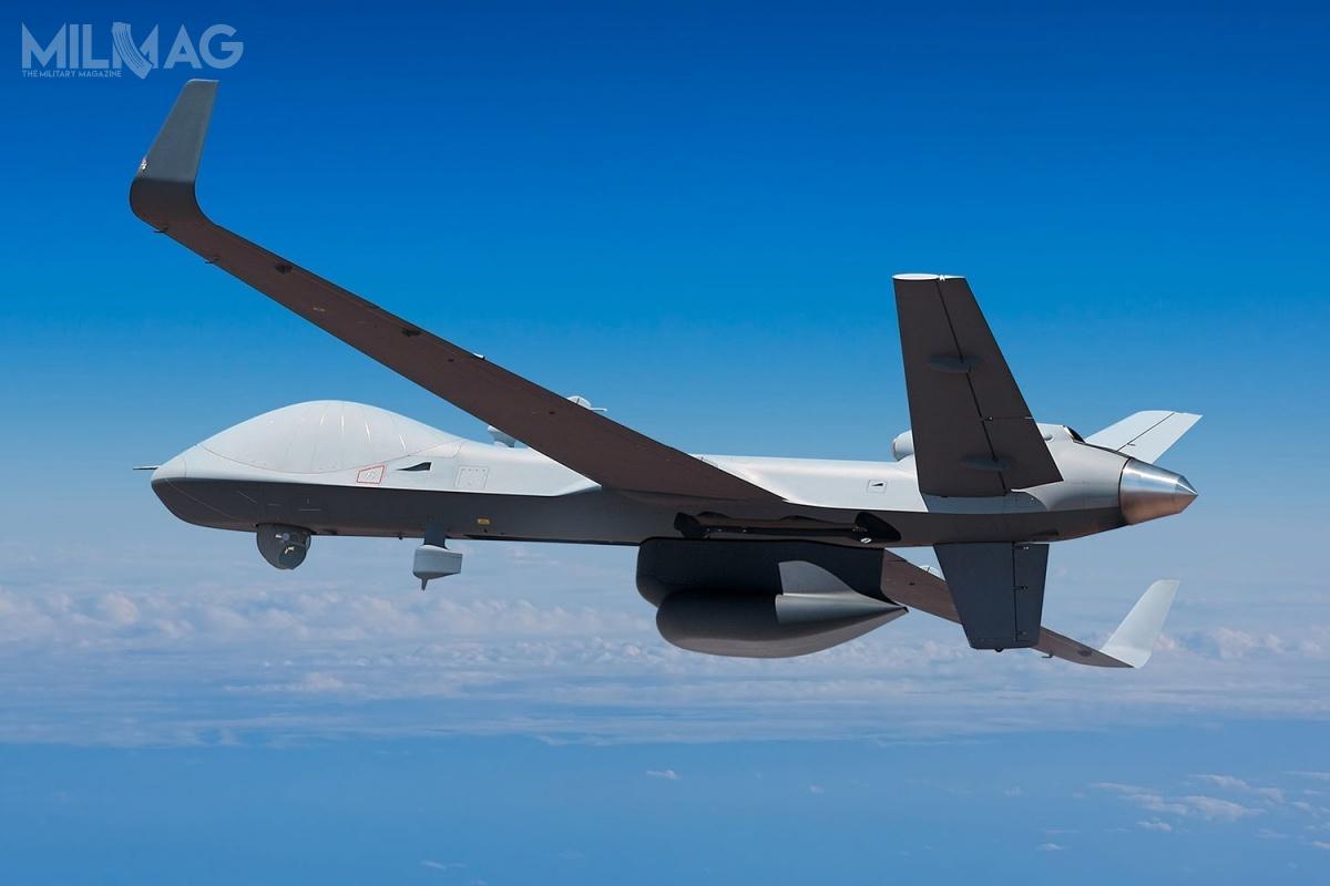 Za czasów Baracka Obamy, ZEA wnioskowały ozakup starszych bbsl MQ-1 Predator, leczUSA odmówiły, wzwiązku zczym zakupiły one chińskie bojowe bsl Chengdu Pterodactyl I(Wing Loong) / Zdjęcie: General Atomics Aeronautical Systems