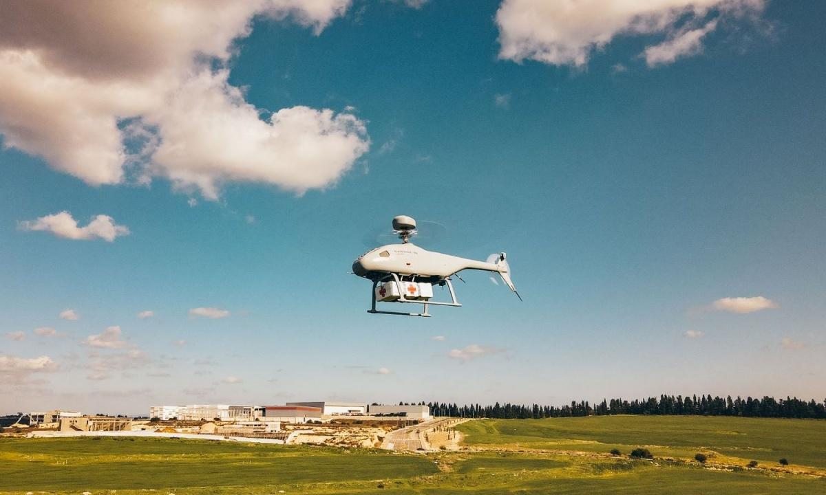 Podczas targów obronnych IDEX 2021 wZjednoczonych Emiratach Arabskich, izraelska spółkaSteadicopter zaprezentowała rodzinę wywiadowczych bezzałogowców Black Eagle / Zdjęcie: Steadicopter