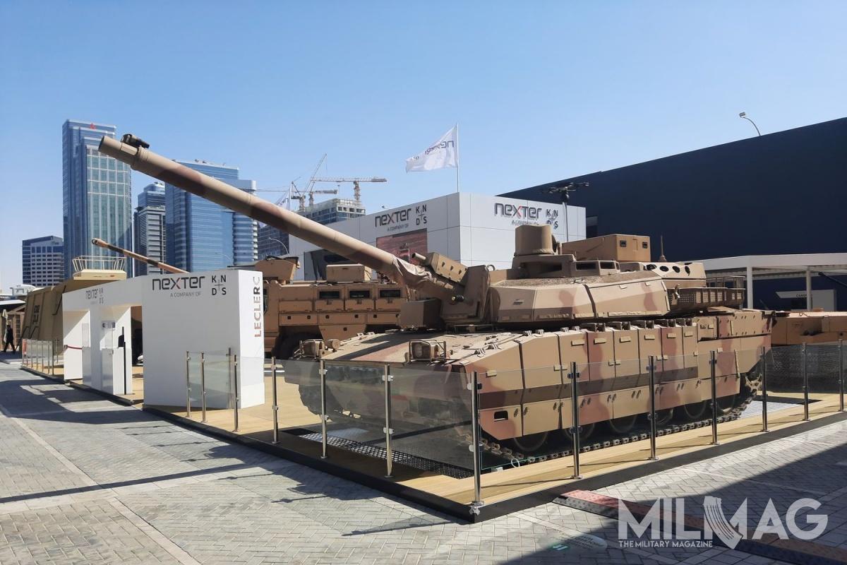 Według informacji przedstawiciele spółki Nexter Systems, władze wAbu Zabi są zainteresowane modernizacją swoich czołgów Leclerc Tropic