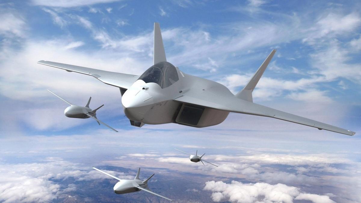 Według źródeł agencji prasowej Reuters, brak kompromisu pomiędzy Francją aNiemcami jest powodem wstrzymania kolejnej transzy środków przeznaczonych naprogram samolotu wielozadaniowego FCAS / Grafika: Airbus Defence and Space