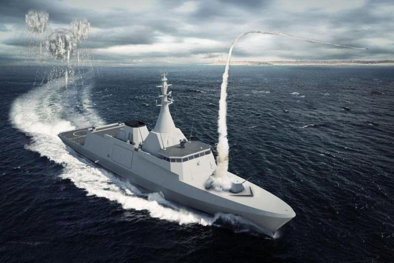 Francusko-włoska spółka joint venture NAVIRIS ihiszpańska spółka Navantia podpisały protokół ustaleń ws. rozszerzenia współpracy wprogramie budowy europejskich korwet rakietowych / Grafika: Naval Group