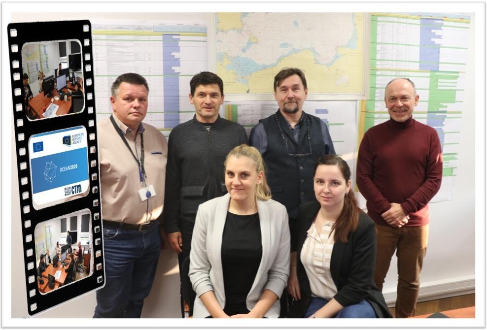 Zespół OBR CTM realizujący program OCEAN 2020. Kierownikiem projektu jest Tomasz Bajer / Zdjęcie: PGZ