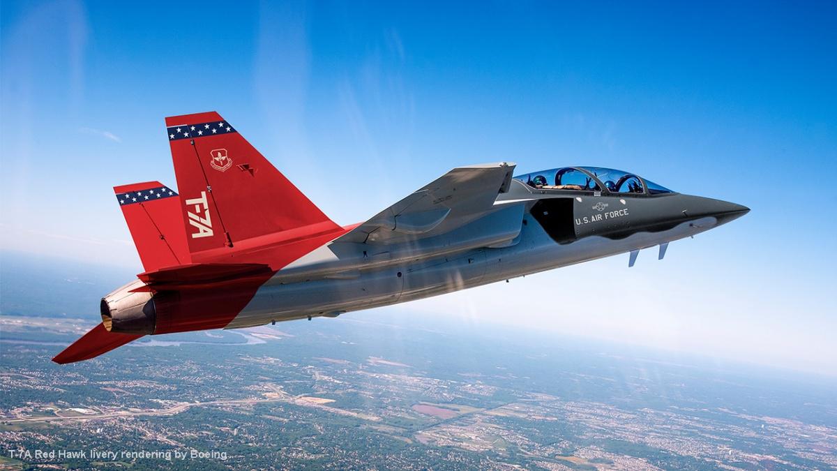 Boeing poinformował orozpoczęciu produkcji seryjnej nowych samolotów szkolenia zaawansowanego eT-7A Redhawk dla amerykańskich wojsk lotniczych (USAF) / Zdjęcie: Boeing