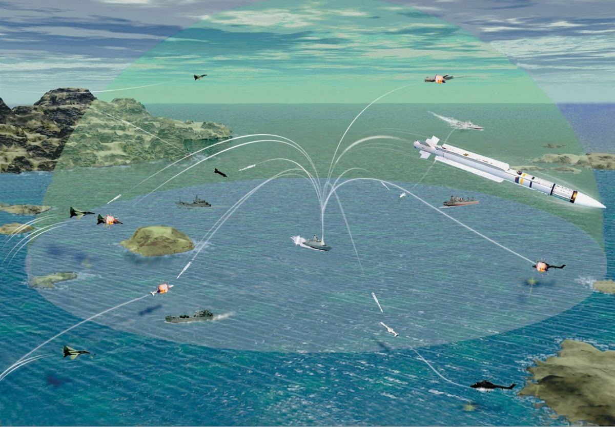 Pociski przeciwlotnicze MBDA MICA NG zastąpią poprzednią generację tego uzbrojenia iwprzypadku wyrzutni naziemnych iokrętowych będą kompatybilne wstecznie / Grafika: MBDA