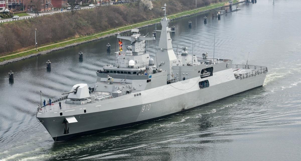 Pociski wwersji VL MICA NG trafią nawyposażenie 4-6 fregat (określanych wEgipcie również jako korwety) typu MEKO A-200, zktórychwiększość zostanie zbudowanych wNiemczech / Zdjęcie: TKMS