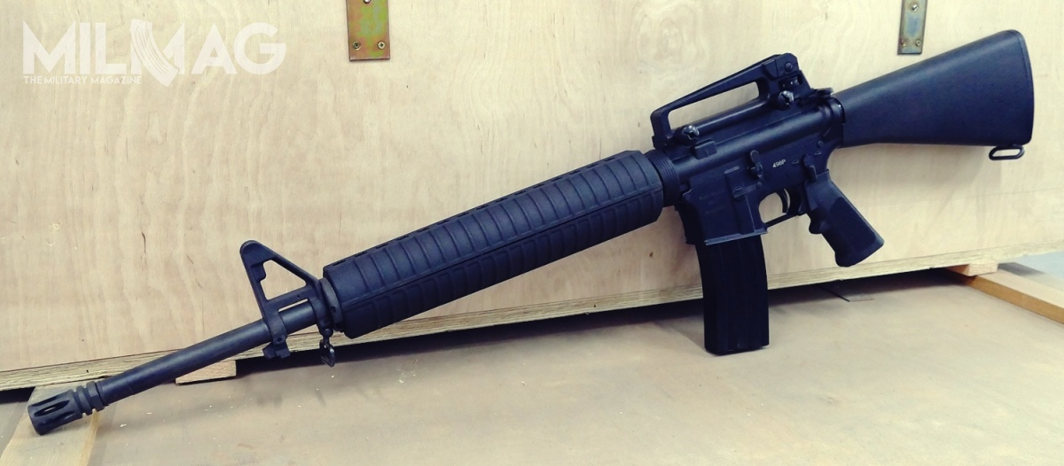 Pioneer Arms Corp. developed Polish clone of AR-15 rifle. The shown firearm was identical to American M16A4 configuration. Ultimately, the rifles will be offered in various barrel lengths and with adjustable stocks and M-LOK compatible handguards.