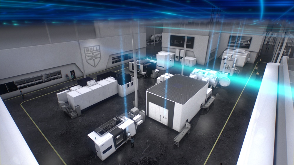 Bell Textron, a Textron company, unveiled today its new 140,000-square-foot Manufacturing Technology Center (MTC) in Fort Worth, Texas / Image by: Bell