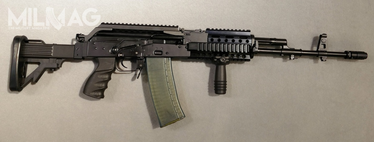 The Beryl SW semi-asault rifle debuted at Europoltech 2017 has the potential to be chosen by Służba Wiezienna for it's modernization program