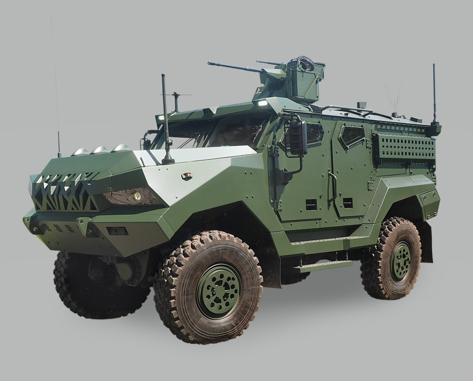 During the MSPO 2020 exhibition HSW, a subsidiary of the Polish Armaments Group and the Czech company Tatra Export signed a cooperation agreement on the design of a new 4x4 armoured vehicle / Image by: HSW