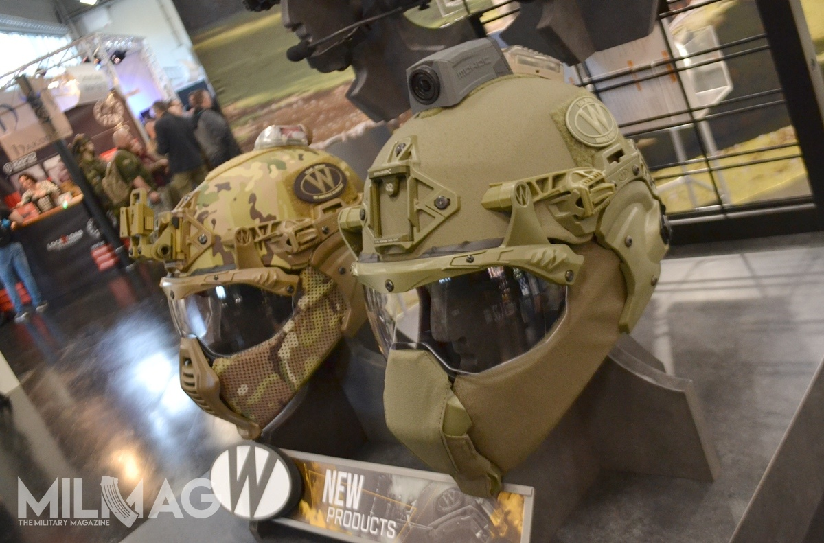 Two variants of Exfil head protection system were presented by Team Wendy during ET2019. Wide range of mounting accessories allows for easy fitment of additions such as visors, face protectors, cameras, lights, IR markers, or identification markers